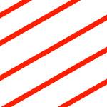 Fundal alb cu gravură roșie